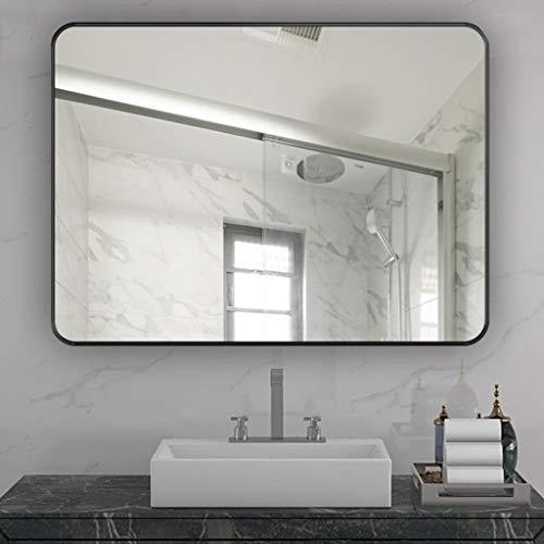 XQAQX Espejo baño Espejo baño Pared Rectángulo Enmarcado Espejo de Pared Vintage...