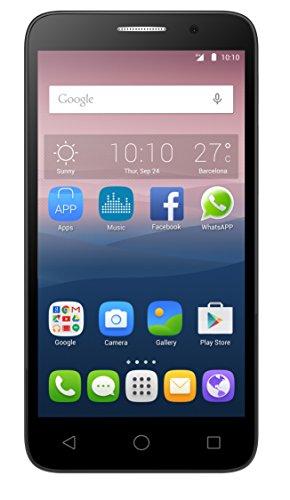 Alcatel One Touch Pop 35065D Smartphone, kompakt, silberfarben