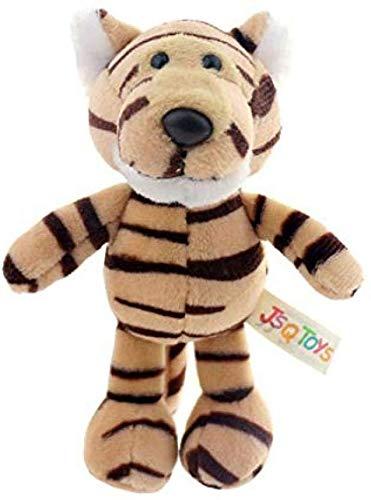 Junsansir Plüschtier-niedlich Cartoon Tier Plüsch Toyplush Spielzeug Schlüsselbund Rucksack Schlüsselbund Paar kleines Geschenk Paar 15cm Tiger A.