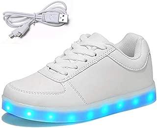 Mr.SHOES Hot 7 Colors Luminous Led Shoes Men Glow Men USB Rechargeable Casual Light Led Shoes for Adults Men