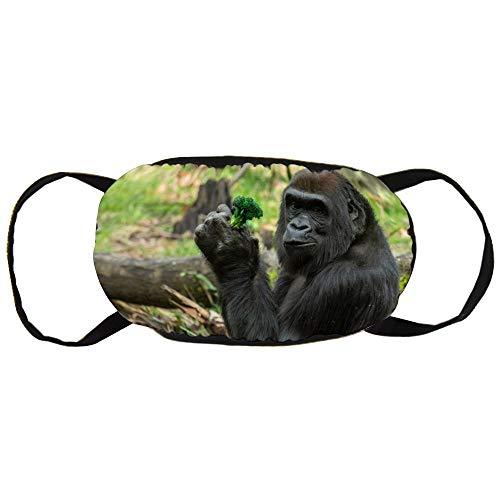 Unisex Mond Masker Anti-Stof Gezicht Mond Masker, Gorilla Veiligheid Herbruikbare Katoen Gezicht Masker voor Outdoor Sporten, Tuinieren, Reizen