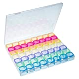 You&Lemon 56 Compartimientos Cajas de Almacenamiento de Plástico Transparente...