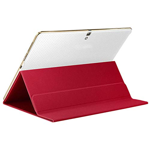 Ultra Slim Solid Magnetic Cover Case Stand voor Samsung Galaxy Tab S 10.5 Inch SM-T800 Tablet Accessoires #ZS Rood