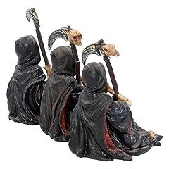 Nemesis Now Something Wicked (Set of Three) Figurine 13cm Black #4