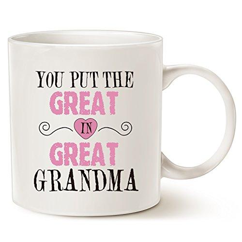 This Might be Wine Grandma Coffee Mug, You Put the Great in Great Grandma...