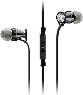 Sennheiser M2 MEi (iOS) In-Ear Canal Headset, Black Chrome [並行輸入品]