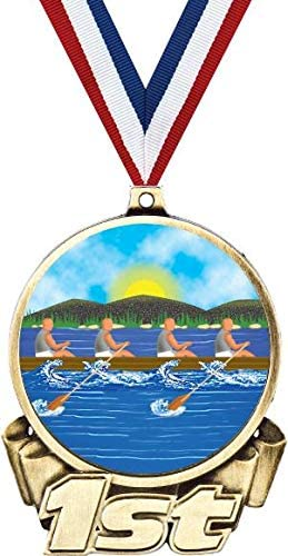 Rowing First Max 57% OFF Place Free Shipping Cheap Bargain Gift Medal Trophy 3