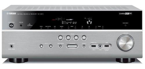 Yamaha RX-V 673 AV-Receiver (3D, HDMI, Upscaler 1080p, USB 2.0) titan