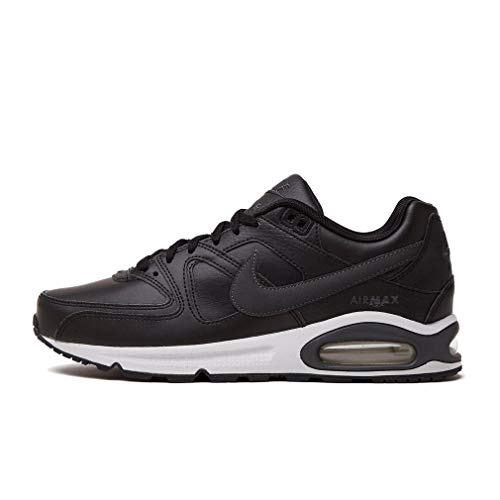 Nike Herren Air Max Command Leather Turnschuhe, Schwarz (Black/Anthracite/Neutral Grey 001), 47 EU