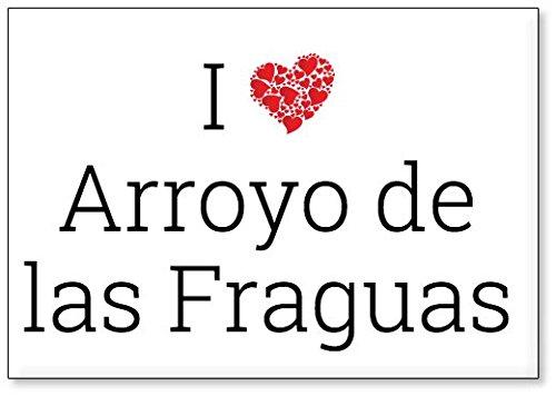 Mundus Souvenirs - Amo Arroyo de Las Fraguas, Imán para Nevera (diseño 3)