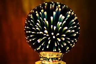 3D Star Led G95 E27 Voltage:110-230V AC Retro Filament / 4w 3D Cosmic Light Bulb Holiday Decoration Bar Light Decoration Glass LED Lamp Lamparas Bombillas
