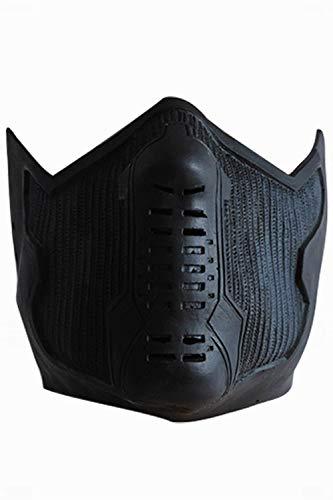 MingoTor Halloween Soldat Maske Cosplay Helm Props Requisiten Schwarz