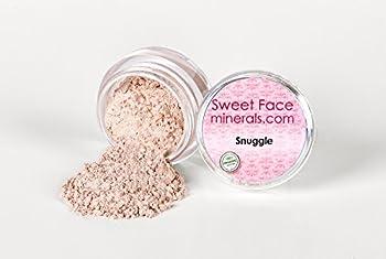 SNUGGLE EYE SHADOW Brow Jar Mineral Makeup Bare Skin Peach Pink Liner Powder