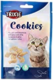 Trixie 42743 Cookies au Saumon et Catnip 50 g