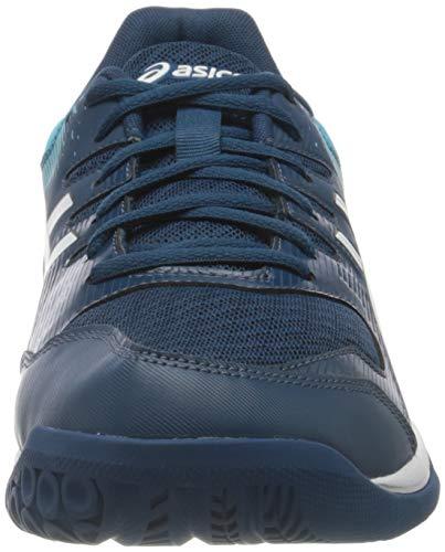 Asics Gel-Rocket 9, Sneaker Hombre, Mako Blue/White, 44 EU