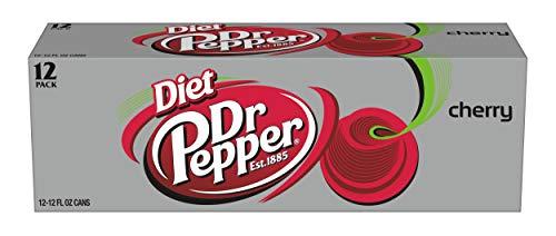 Diet Dr Pepper Cherry 12oz (Pack of 24)