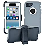iPhone 7 / iPhone 8 Cover | 2-in-1 Screen Protector &...