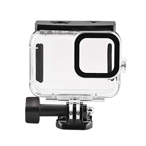 45M Impermeable Caso Subacuático Vidrio Templado de Buceo Cubierta de la Lente Filtro Para GoPro Hero 9 Negro Cámara Para Go Pro
