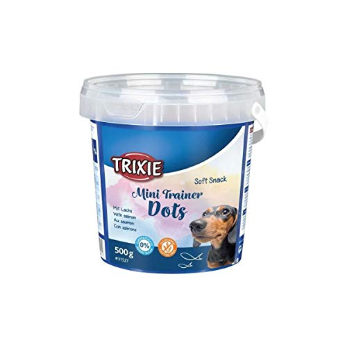 TRIXIE 31527 Soft Snack Mini Trainer Dots, 522 g