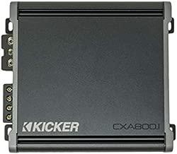 Kicker 46CXA8001 Car Audio Class D Amp Mono 1600W Peak Sub Amplifier CXA800.1