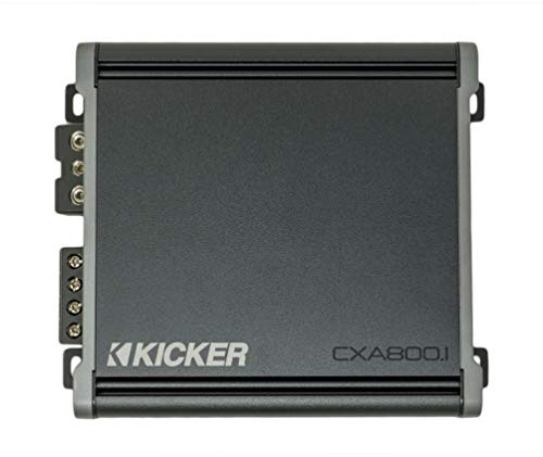 Kicker 46CXA8001 Car Audio Class D Amp Mono 1600W Peak Sub Amplifier CXA800.1