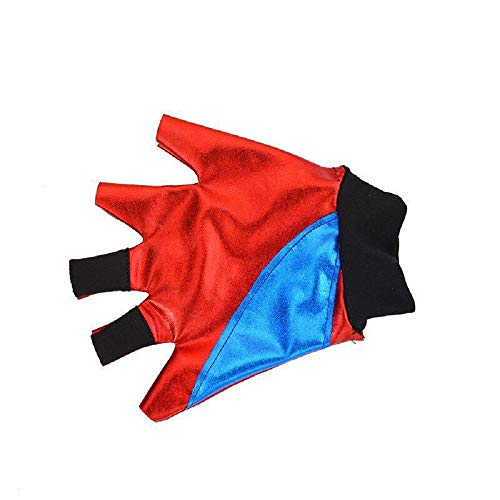 Ropa de Las Muchachas de los niños Suicide Squad Harley Quinn FancyDress Cosplay Conjunto de Traje de Traje Pantalones Cortos Conjunto de Camiseta Rojo (7-8 Years(120cm-130cm Child))