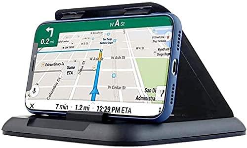 Soporte de teléfono para coche, de silicona, para el salpicadero del coche, universal, compatible con todos los smartphones iPhone XS Max XR X 8 8+ 7 Samsung Galaxy