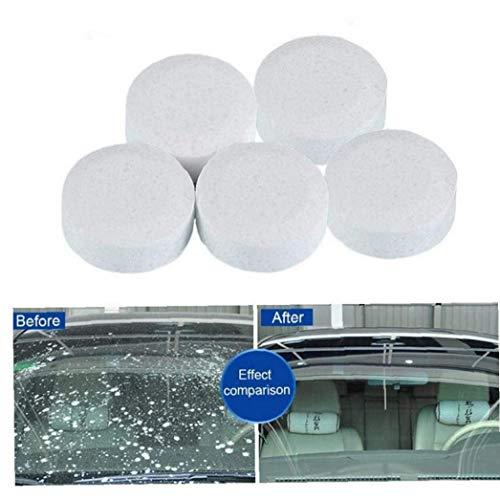 BYFRI Brausetabletten Sprühreiniger Auto Windschutzscheibe Glasreinigungstabletten Scheibenwasch Waschmittel Reinigung Wiper