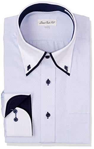 [ドレスコード101] ワイシャツ 結婚式・披露宴にぴったり 襟高デザインでかっこいい 二次会 パーティー ド...