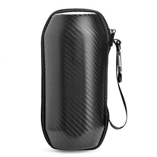 Yushu Funda rígida portátil para -JBL Flip 5 altavoces, bolsa de transporte de viaje, funda de transporte rígida, bolsa de almacenamiento para auriculares, funda de viaje moderna