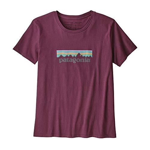 Patagonia W's Pastel P-6 Logo Organic Crew T-Shirt - Camiseta Mujer