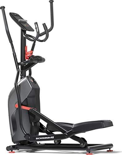 Schwinn Ellipsentrainer 510E Compact, Crosstrainer mit nur 109 cm Länge, Bluetooth, kompatibel mit RunSocial, Tablethalterung, max. Benutzergewicht 136 kg