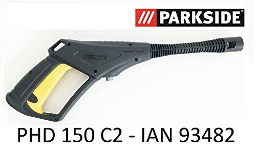 Parkside hogedrukreiniger spuitpistool PHD 150 C2 - LIDL IAN 93482 met schroefdraadaansluiting en trigger met kinderbeveiliging tot 150 bar