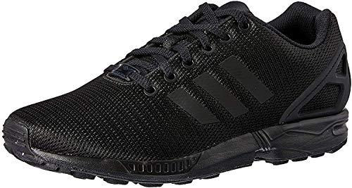 adidas ZX Flux, Unisex-Erwachsene Sneakers, Schwarz (Core Black/Dark Grey), 44 2/3 EU
