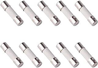 10 Pcs Set of Semi-Delay Glass Fuses 2cm 20mm 5mm 5x20mm 220V 250V 2.5A Aerzetix