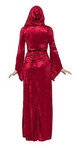 Mittelalterliche Prinzessin, Zauberin, Vampir Gothic, Burgfräulein Damen Kostüm Gr. M/L - 3