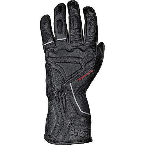 IXS Motorradhandschuhe kurz Motorrad Handschuh X-Clinch Tigun Handschuh kurz schwarz M, Herren, Tourer, Sommer, Leder