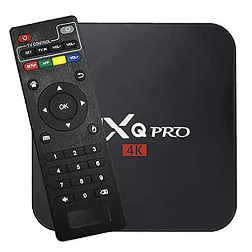 Macom MXQ Pro Smart TV 4K Android TV Box with 2GB RAM/16GB ROM 64Bit Quad Core Processor | Smart 4K TV Box for LED, LCD TV - 2GB RAM/16GB ROM Smart Tv Box - MXQ Pro 5G