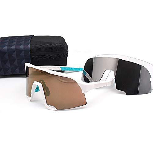 YFCTLM Los vidrios de Ciclo Gafas de Ciclismo al Aire Libre Gafas de Deportes de Bicicleta UV400 Ciclismo Gafas de Sol para Hombre Polarizado Bike Riding Gafas (Color : B7)