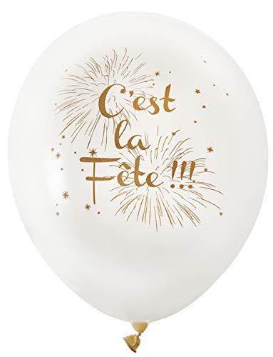 Generique - 10 Ballons Cest la Fête Ivoire
