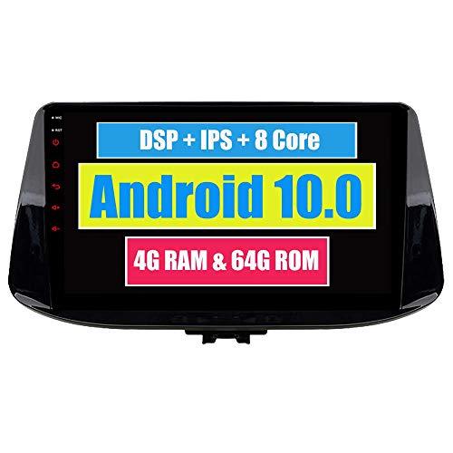 LYHY Autoradio Stereo per Auto Bluetooth Radio unità di Navigazione GPS per Hyundai I30 2017 2018 2019 con Touch Screen Android USB DSP MirrorLink WiFi