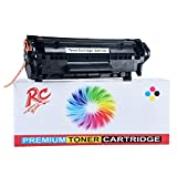 R C PRINT 12A Q2612A Laser Toner Cartridge for HP Laserjet Printer M1005