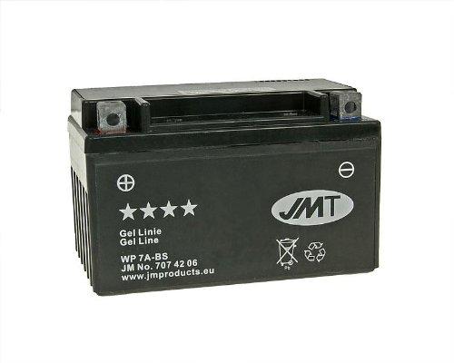 Batterie JMT Gel JMTX7A-BS für Tauris Capri 50 4T Bj. 2010-2013 - inkl. 7,50 EUR Batteriepfand
