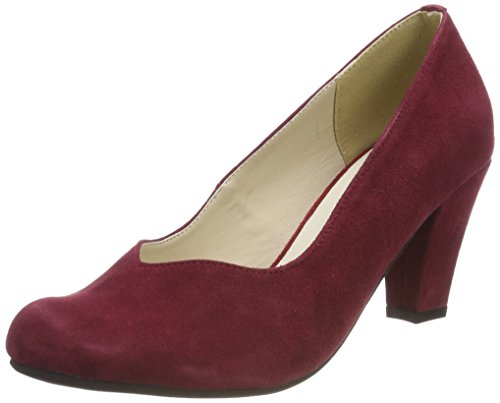 Hirschkogel Damen 3000507 Pumps Rot (Bordo) 42 EU