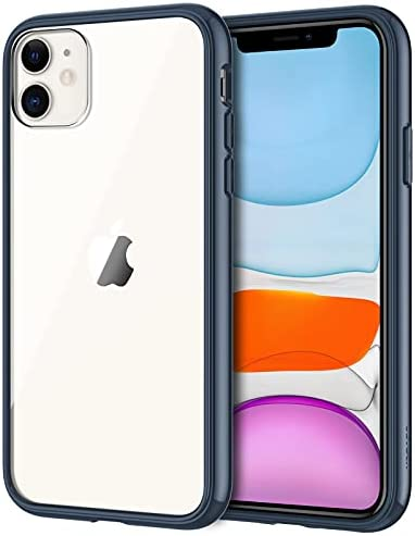 JETech Case for iPhone 11 (2019), 6.1-Inch, Shockproof Transparent Bumper Cover, Anti-Scratch Clear Back, HD Clear