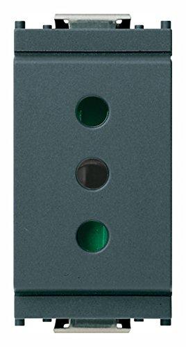 Vimar 0R16201 Idea Presa elettrica a muro con protezione...