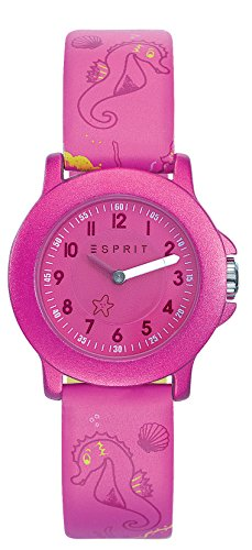 Esprit Unisex Analog Quarz Smart Watch Armbanduhr mit Leder Armband ES103454012