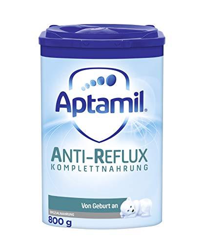 Aptamil Anti-Reflux Komplettnahrung, Babynahrung von Geburt an, Baby-Milchpulver (1 x 800 g)
