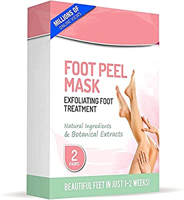 Forent, Socks Foot Peel Mask, Gray, 4 count by Forent
