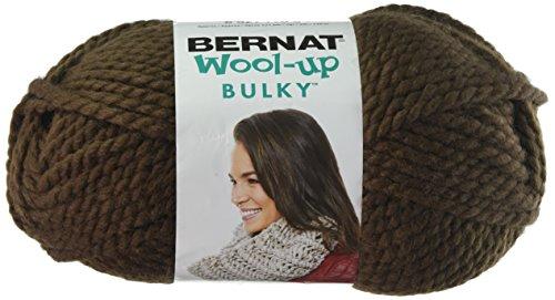 Spinrite Wool-Up Bulky Yarn, Brown -  Bernat, 161150-50013